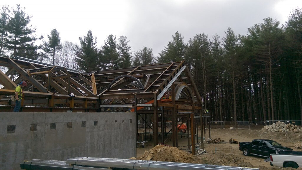 Andover structural steel construction management Jay Steel