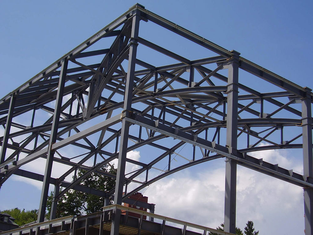 Cushing Academy structural steel const Jay Steel
