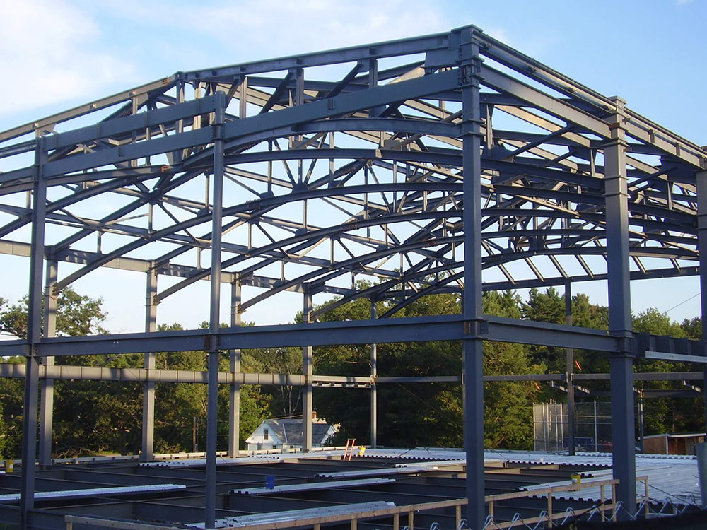 Cushing Academy structural steel const management Jay Steel