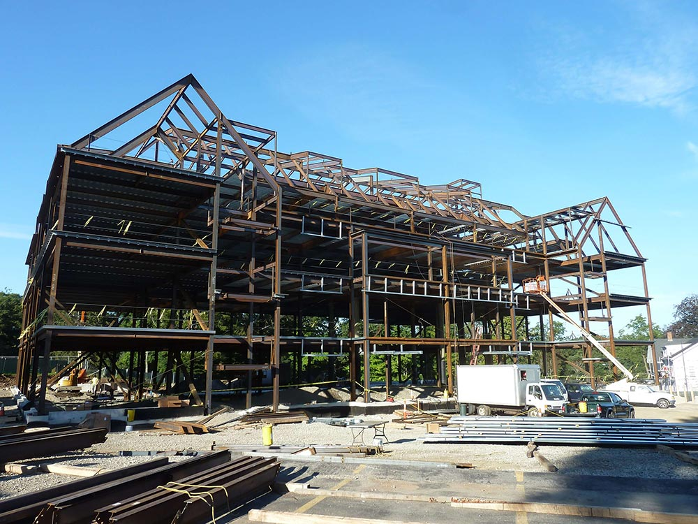 St. John's Prep STEM Building construction management Jay Steel